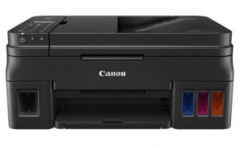 Многофункциональное устройство Canon PIXMA G4400 черный, струйный с СНПЧ, A4, цветной, ч.б. 8.8 стр/мин, цвет 5.0 стр/мин, печать 4800x1200, скан. 600