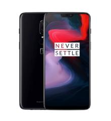 "Смартфон OnePlus A6003 OnePlus6 Mirror Black, 6.28"" 1080x2280, 2.8GHz, 8 Core, 6GB RAM, 64GB, 20Mpix+16Mpix/16Mpix, 2 Sim, 2G, 3G, LTE, BT, Wi-Fi, NFC"