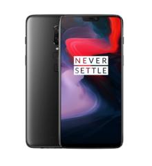 """Смартфон OnePlus A6003 OnePlus6 Midnight Black, 6.28"""" 1080x2280, 2.8GHz, 8 Core, 8GB RAM, 128GB, 20Mpix+16Mpix/16Mpix, 2 Sim, 2G, 3G, LTE, BT, Wi-Fi,"""