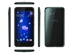 Смартфон HTC U11 EEA Brilliant Black, 5.5'' 2560x1440, 2.45GHz, 8 Core, 4GB RAM, 64GB, up to 2TB flash, 12Mpix/16Mpix, 2 Sim, 2G, 3G, LTE, BT, Wi-Fi,