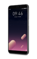 Смартфон MEIZU M6s Black, 5.7'' 1440x720, 1.6GHz+2.0GHz, 6 Core, 3GB RAM, 32GB, up to 128GB flash, 16Mpix/8Mpix, 2 Sim, 2G, 3G, LTE, BT, Wi-Fi, 3000mA