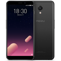 Смартфон MEIZU M6s Black, 5.7'' 1440x720, 1.6GHz+2.0GHz, 6 Core, 3GB RAM, 64GB, up to 128GB flash, 16Mpix/8Mpix, 2 Sim, 2G, 3G, LTE, BT, Wi-Fi, 3000mA