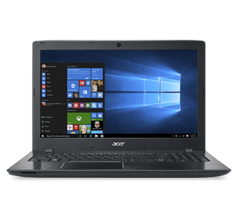 Ноутбук Acer Notebook Acer Aspire E5-575G 15.6 HD (1366x768)/Intel® Core™ i5-7200U DC 2.5GHz/6GB/500GB/Nvidia GT940MX 2GB/DVD-RW/Win 10 Home/Black