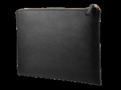 Сумка HP HP 13.3 Prm Lth Blk Zip Sleeve